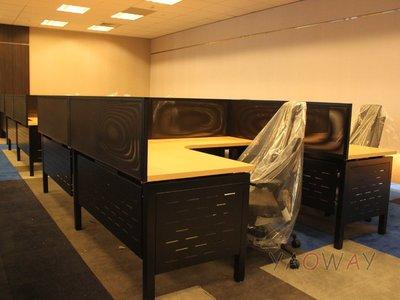 【耀偉】GAMMA系統工作站 (辦公桌/辦公屏風-規劃施工-拆組搬遷工程-組合隔間-水電網路)15