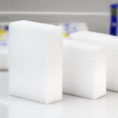 海綿刷 清潔刷 百潔布  海綿 洗鍋刷 餐具 泡沫 碗盤  ☜shop go☞【A008-1】納米清潔海綿(裸裝-厚)