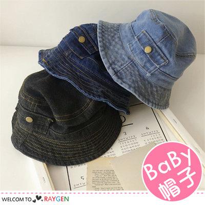 HH婦幼館 帥氣兒童口袋造型牛仔帽 遮陽帽 漁夫帽【2D094M786】