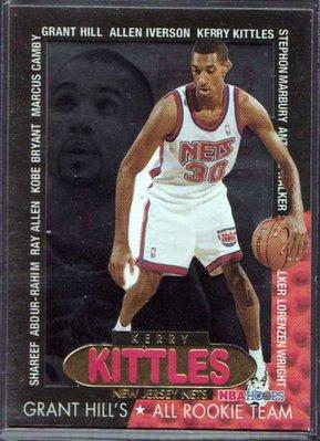 96-97 HOOPS GRANT'S ALL ROOKIES #7 KERRY KITTLES