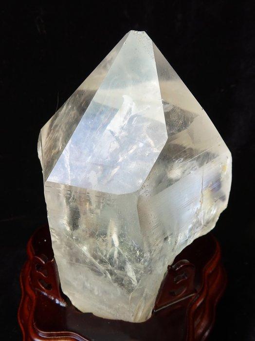~shalin-crystal~巴西白水晶骨幹~943公克~晶質清透~質地超優~值得珍藏!
