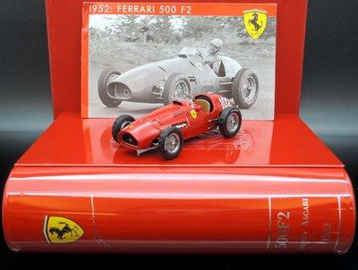 【MASH】[絕版品特價] IXO 1/43 Ferrari 500 F2 1952世界冠軍F1 精裝鐵盒版