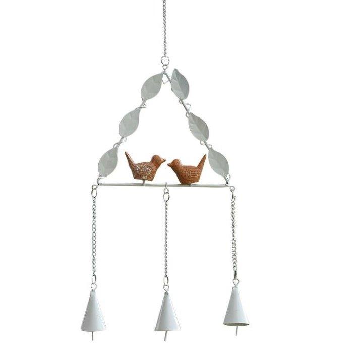 創意風鈴掛飾小鳥日式手工鈴鐺女生房間裝飾品臥室小清新生日禮物