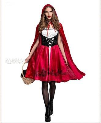 ♥萌妞朵朵♥小紅帽短款/成人公主裙衣服/成人連衣裙/萬聖節/聖誕節/尾牙/派對