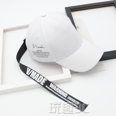 新品優惠 鴨舌帽 帽子女韓版街頭英文字母長帶子棒球帽時尚嘻哈鴨舌帽遮陽帽男