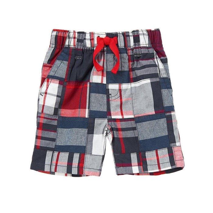 Maple麋鹿小舖 美國購買童裝品牌 GYMBOREE 男童格紋短褲 * ( 現貨3T )