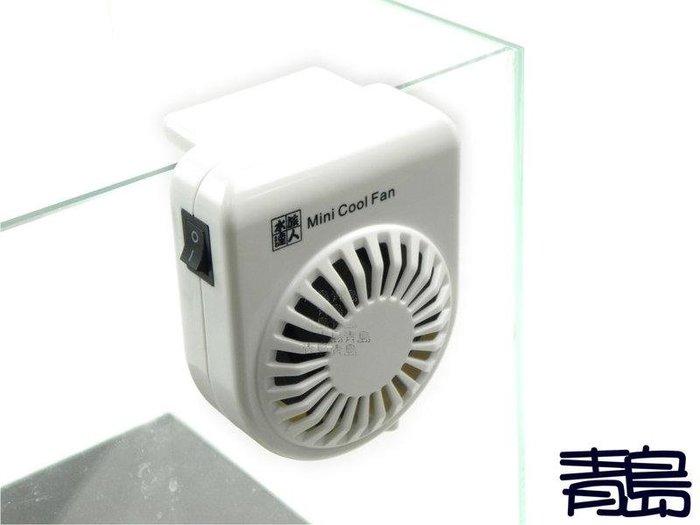 五26↓↓A。。青島水族。。1AMA10015台灣水族達人---小型冷卻風扇(迷你風)Mini Cool Fan==白色