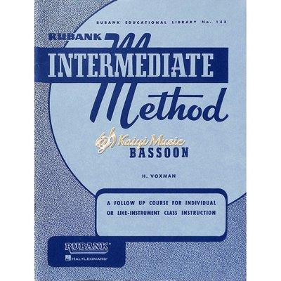 Kaiyi Music 【Kaiyi Music】Rubank Intermediate method bassoon