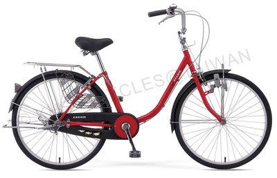 【吉-KHS單車館】 T-240 功學社淑女車 (自行車/單車/腳踏車) (T240)