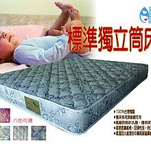 【愛酷酷名床】活動優惠商品—標準獨立筒床墊/雙人5尺