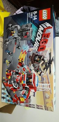 Lego Movie 消防車 70813