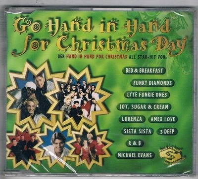 [鑫隆音樂]西洋單曲-CO HAND IN HAND FOR CHRISMAS DAY {743215359128}/全新