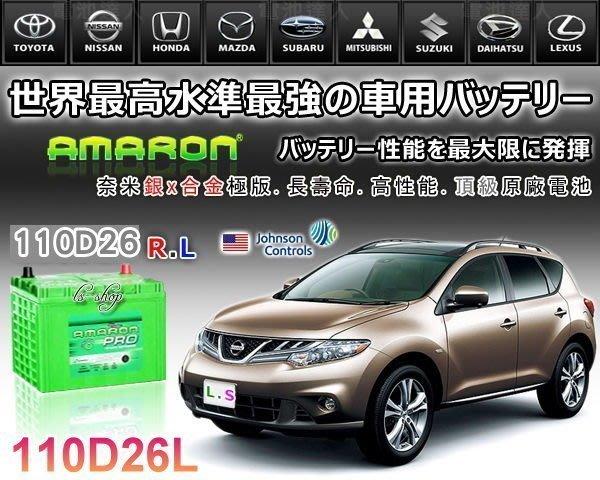 【鋐瑞電池】DIY自取交換價 110D26L 愛馬龍 汽車電池 PREVIA SIENNA ODYSSEY 80D26L