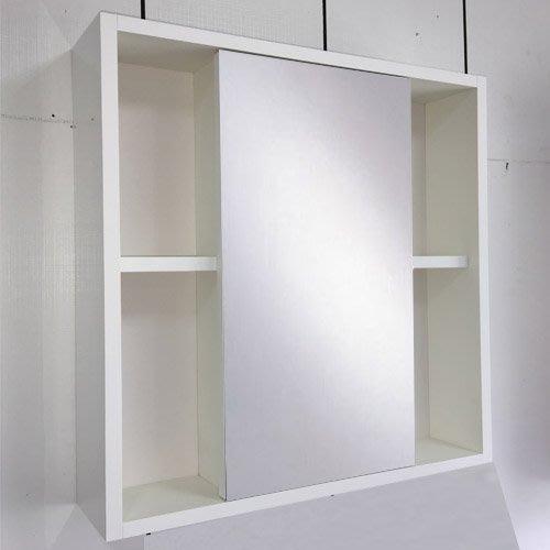 60公分 鏡箱 鏡櫃 鏡子 明鏡 無除霧 有置物空間 成舍衛浴 可放漱口杯 尺寸均可訂製