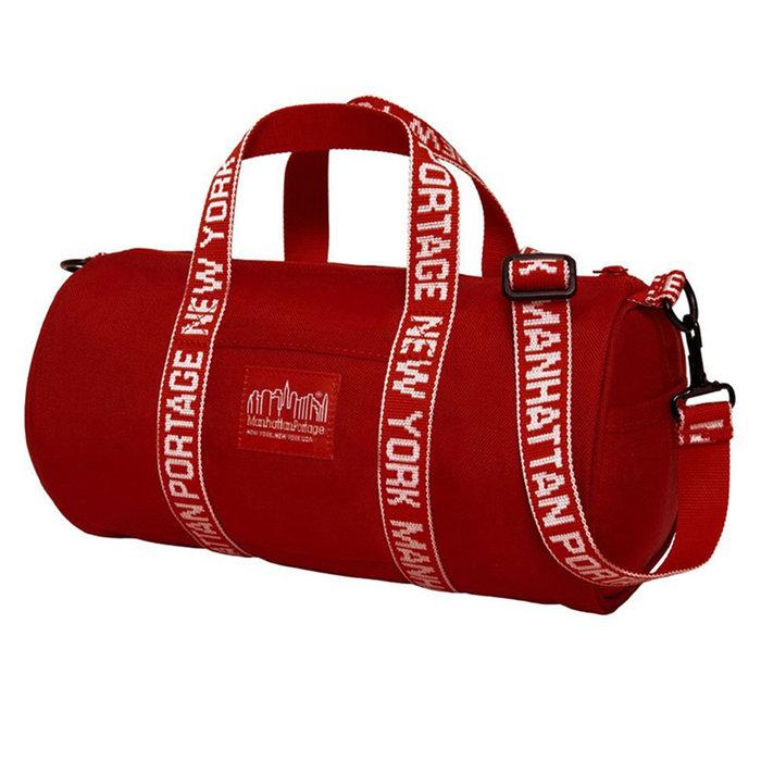 【QUEST】MANHATTAN PORTAGE 曼哈頓 1800 文字織帶契爾西肩背包 紅