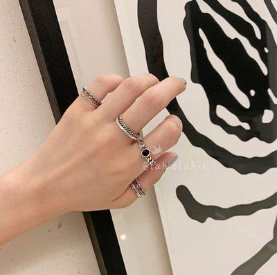 韓國 MEJIWOO 韓妞款 戒指 混搭 組合 七件組 銀飾 號錫姊姊  J-HOPE HOPE 戒指