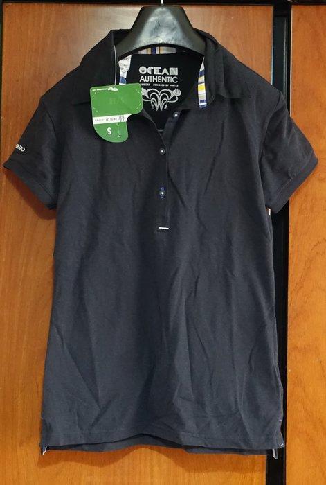 [C.M.平價精品館]S現貨/法國OXYLANE迪卡儂品牌黑色棉質短袖polo衫