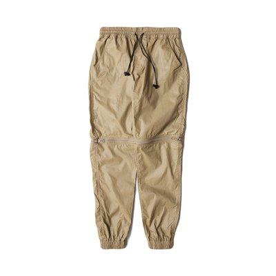 PUBLISH D1 HESTER【GIANT MALL】拉鍊 兩件式 短褲 長褲 束口褲 卡其色 P1501049