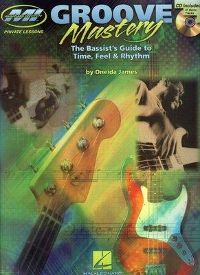 [反拍樂器] MI進口教材 Groove Mastery 貝士教材 附CD (免運費)