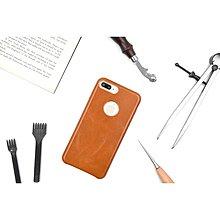 SpoM客製化 義大利真皮皮革 IPhone 7 Plus 保護殼手機殼保護套手機套皮套背蓋保護蓋 Apple I7P