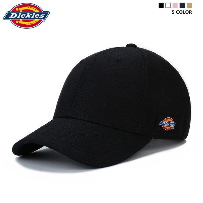 999棒球帽 鴨舌帽 造型帽 時尚Dickies帽子男女情侶鴨舌帽嘻哈運動戶外刺繡側標彎檐棒球帽潮