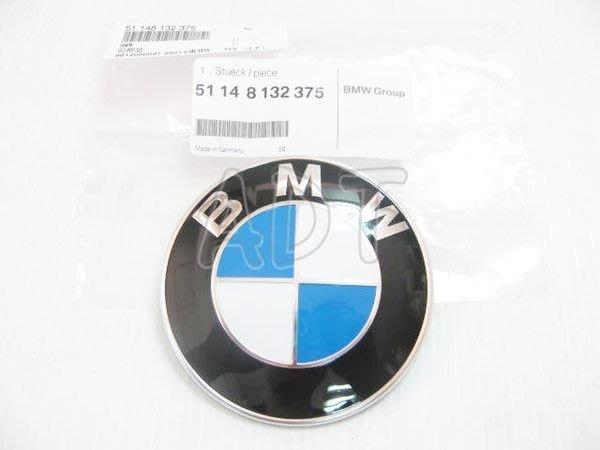 ~~ADT.車燈.車材~~BMW E39 E46 E53 X5  E90 E91 E92 引擎蓋 後箱蓋 原廠藍白標誌