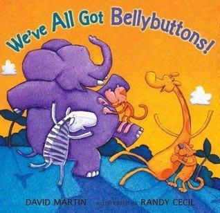 *小貝比的家*WE'VE ALL GOT BELLYBUTTONS!/平裝書+CD/3~6歲/幽默 Humor