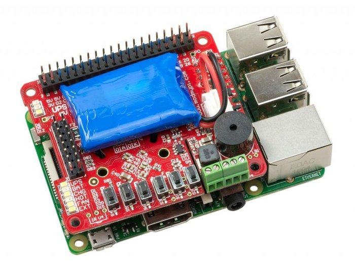 【莓亞科技】樹莓派不斷電系統(UPS)(HV3.0B+)(進階版)(含稅NT$1980)