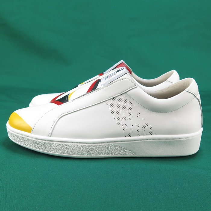Royal  BISHOP 無鞋帶 休閒鞋  正品 91791019 女款 黃X黑X紅 【iSport愛運動】