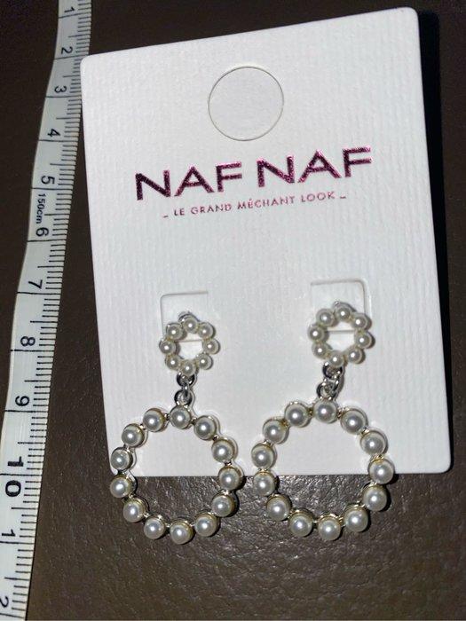 大出清!!   新款上架國外大牌Naf Naf超美耳環