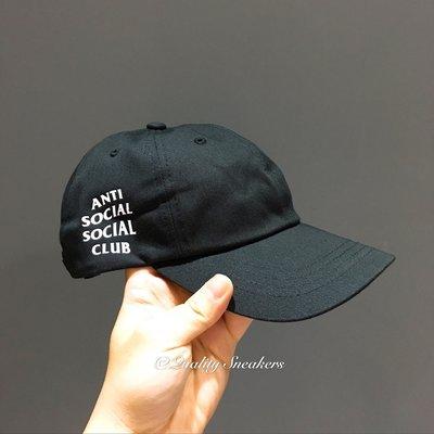 現貨 - Anti Social Social Club ASSC 亞洲限定 黑白 黑底 白字 老帽 帽子