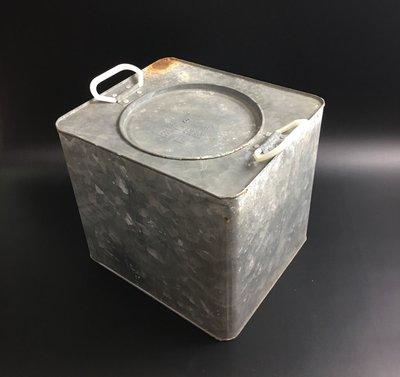 軍用野戰口糧桶 鐵桶 鐵箱