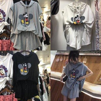 可愛米奇印花~韓國兩件式套裝 Born again 【boa0346】