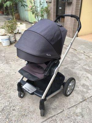 nuna mixx嬰兒推車,已清洗、兒童推車。 雙向平躺,內襯已清洗可直接使用。 附雨衣、置杯架