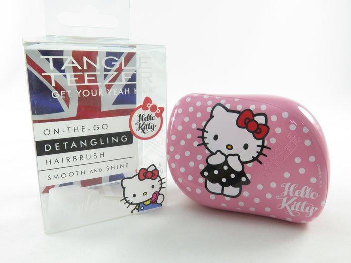 45週年Hello Kitty聯名款iSport愛運動 TANGLE TEEZER  英國製專利護髮造型梳  代購商品
