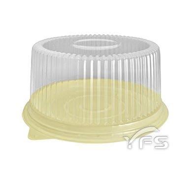 R06六吋蛋糕盒(底HIPS/蓋OPS) (拜拜蛋糕/布丁蛋糕/海綿蛋糕/圓形蛋糕盒/泡芙)