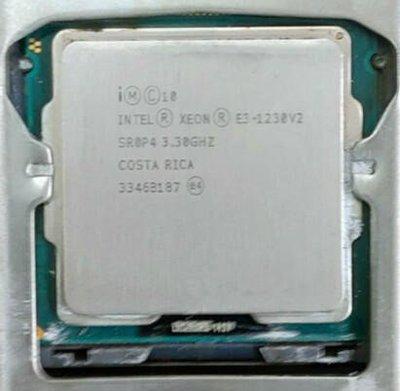 345電腦【1155 CPU】Intel Xeon E3 1230 V2 3.3G 8M 4C8T 效能同I7 3770