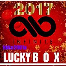 INFINITE [ 2017 聖誕快樂 Lucky Box ]現貨在台-hkko2001a-無限 幸運盒 週邊應援商品