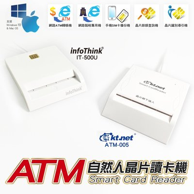 台灣公司貨 口罩實名制 自然人晶片讀卡機 ATM讀卡機 報稅讀卡機 支援MAC【G1040】