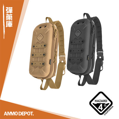 【AMMO彈藥庫】HAZARD 4 Bandoleer 小型子彈型單斜肩硬殼包 軍事背包 軍用背包 #WP-BDL
