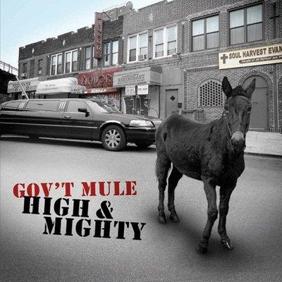 "((CD))  Gov't Mule  ""High & Mighty"""