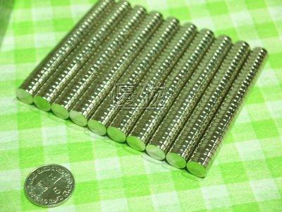 『優磁』釹鐵硼強力磁鐵---直徑10*厚度3mm (300個下標區)