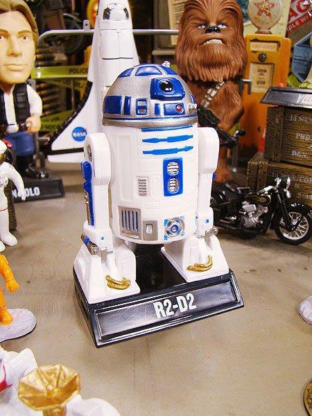 (I LOVE樂多)FUNKO 星際大戰 STAR WARS R2D2 搖頭娃娃 家用.車內.店家.多處擺飾皆宜