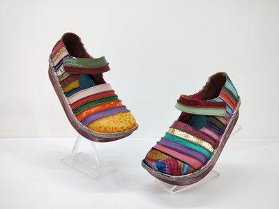 ║阿貴鞋麗屋║ Macanna  正品 麥坎納專櫃  鬱金香系列~ 全新亮眼色調  彩虹氣墊鞋~  0356