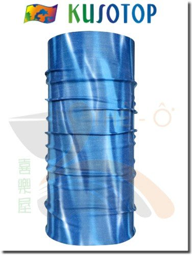 KUSOTOP 原創系列 運動魔術頭巾 吸濕快乾 抗UV 柔軟 透氣 6 台灣製造 喜樂屋戶外休閒