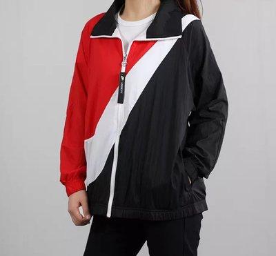 =E.P=Nike sportwear 女裝 大勾 運動 休閒 立領外套 紅黑 BV3686-010