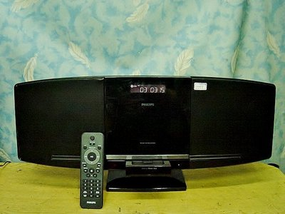 【小劉二手家電】PHILIPS  CD音響,DCM292/96型,附原廠遙控器,音效佳