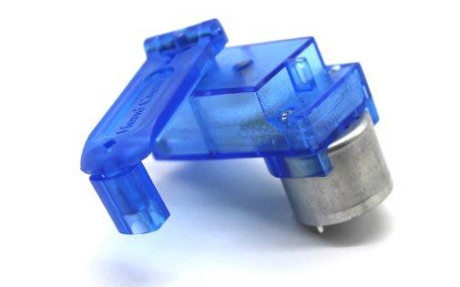 《1330》藍色透明310手搖發電機 學生自製發電科學實驗電動玩具馬達配件