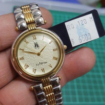 展示錶 POLO 中性錶 錶店釋出 漂亮 行走中 非Rolex ETA OMEGA TELUX SEIKO s9