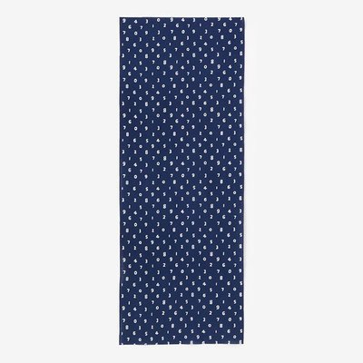 日本SOU SOU伊勢木棉-深藍#口罩透氣布料